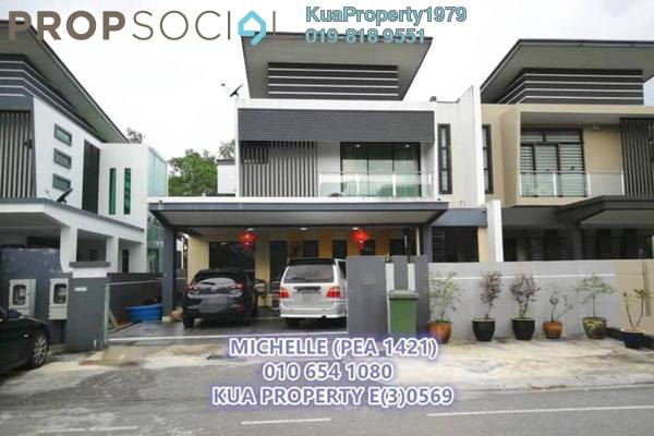 For Sale Semi-Detached at Tabuan Heights, Kuching Freehold Fully Furnished 5R/4B 1.35m