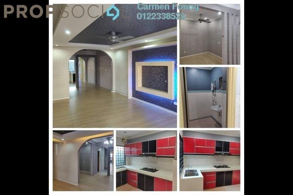 For Rent Terrace at Section 7, Bandar Mahkota Cheras Freehold Semi Furnished 4R/3B 1.6k