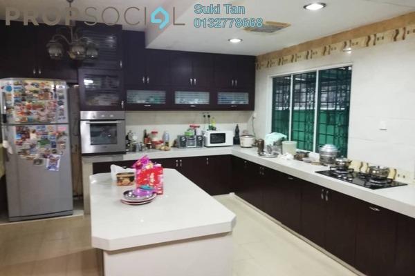 For Sale Terrace at Taman Tasik Indah, Jalan Ipoh Freehold Semi Furnished 6R/6B 1.4m
