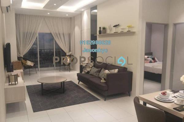 For Sale Condominium at Residensi Platinum Teratai, Kuala Lumpur Freehold Semi Furnished 3R/2B 360k