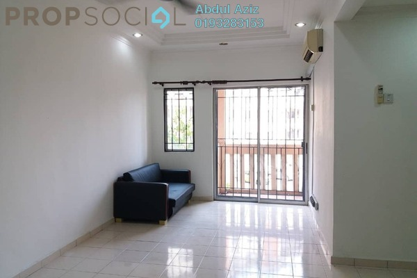 For Sale Apartment at Section 7, Shah Alam Freehold Semi Furnished 3R/2B 390k