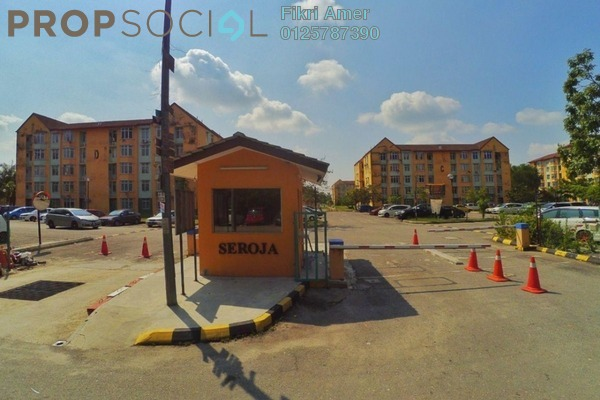 For Sale Apartment at Seroja Apartment, Puchong Leasehold Unfurnished 3R/2B 250k