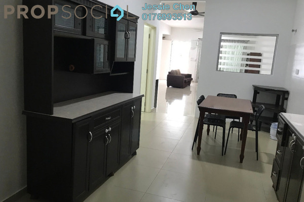 For Rent Terrace at Dextora, Bandar Sri Sendayan Freehold Semi Furnished 4R/4B 1.2k