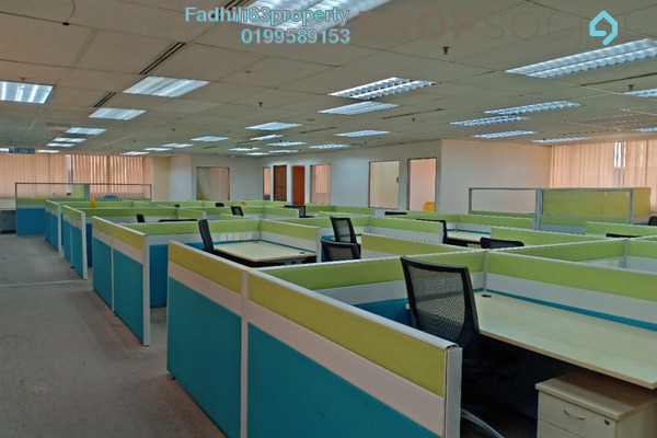 For Rent Office at Wisma Chase Perdana, Damansara Heights Freehold Semi Furnished 0R/0B 15k