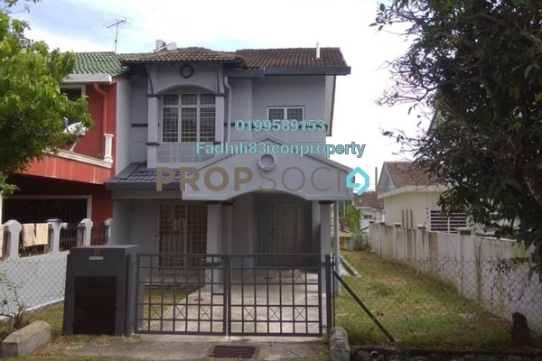 For Sale Terrace at Taman Puncak Jalil, Bandar Putra Permai Freehold Unfurnished 4R/3B 630k