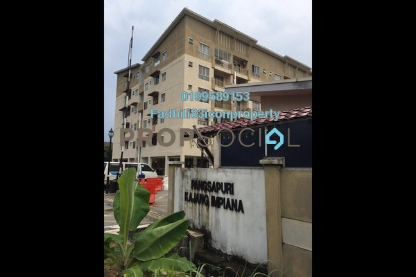 For Sale Apartment at Seksyen 7, Bandar Baru Bangi Freehold Unfurnished 3R/2B 279k