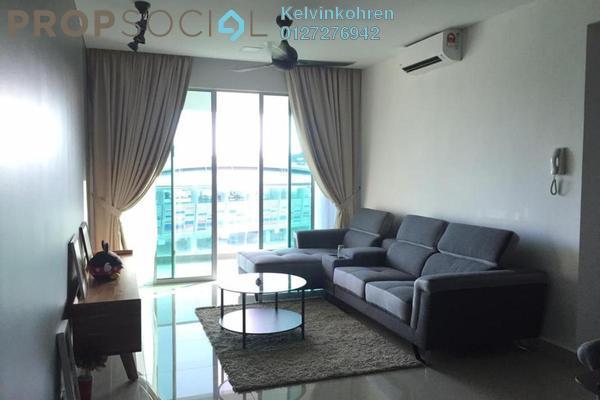 For Sale Condominium at Kiara Residence 2, Bukit Jalil Freehold Semi Furnished 3R/2B 675k