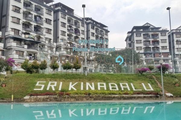 For Sale Condominium at Sri Kinabalu, Wangsa Maju Freehold Semi Furnished 4R/2B 380k