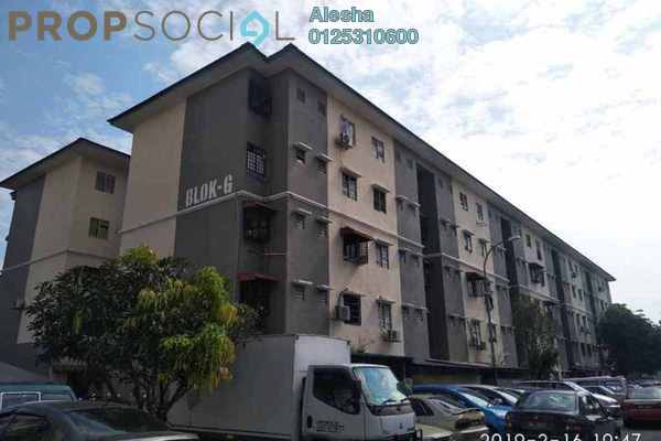 For Sale Apartment at Taman Petaling Utama, PJ South Freehold Unfurnished 0R/0B 110k