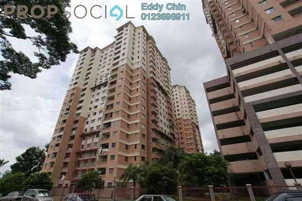 For Rent Apartment at Idaman Sutera, Setapak Freehold Semi Furnished 3R/2B 1.1k