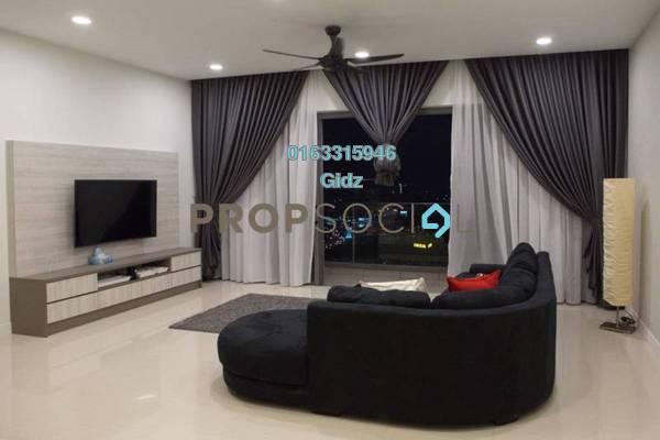 For Rent Condominium at Reflection Residences, Mutiara Damansara Freehold Fully Furnished 3R/3B 5.5k