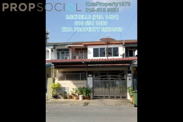 For Sale Terrace at Kempas Heights, Kuching Leasehold Semi Furnished 4R/3B 700k