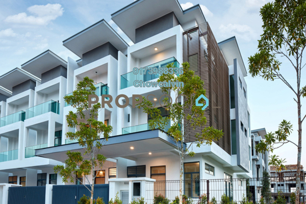 For Sale Superlink at Taman Puchong Perdana, Puchong Freehold Fully Furnished 6R/6B 989k