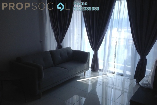 For Sale Serviced Residence at The Link 2 Residences, Bukit Jalil Freehold Fully Furnished 2R/1B 700k