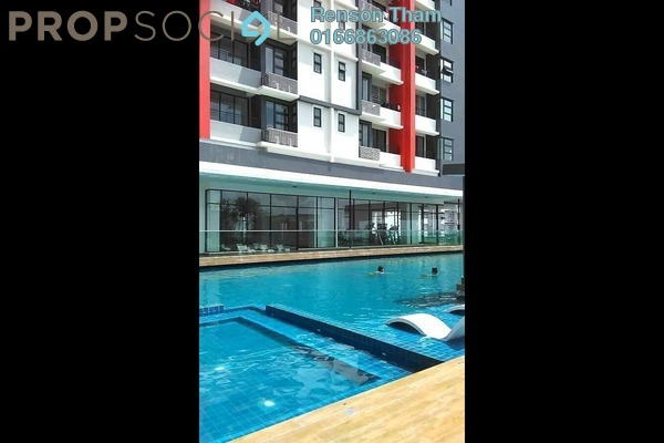 For Sale Condominium at D'Aman Residences, Puchong Freehold Semi Furnished 3R/2B 389k