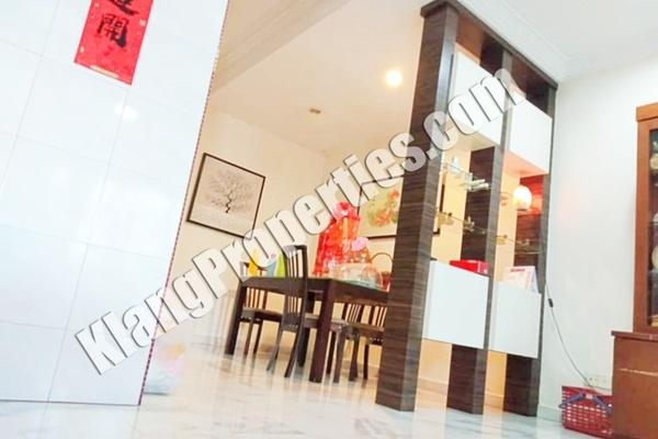 For Sale Terrace at Batu Belah, Klang Freehold Fully Furnished 4R/3B 520k