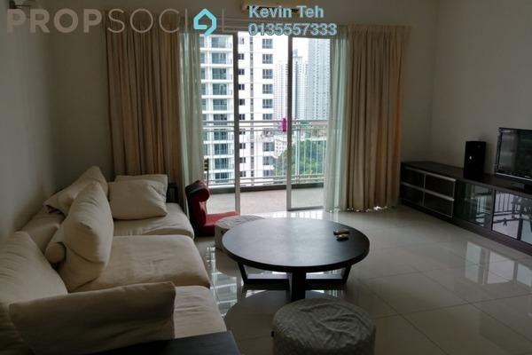 For Rent Condominium at Ceriaan Kiara, Mont Kiara Freehold Fully Furnished 3R/3B 3.3k