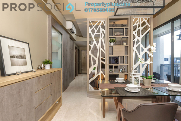 For Sale Condominium at Lagoon Villas, Kota Kemuning Freehold Fully Furnished 3R/2B 458k