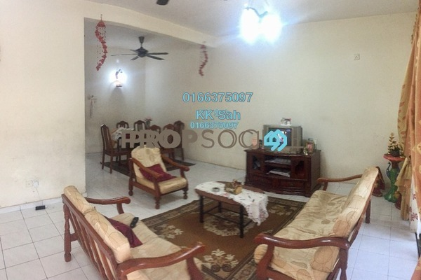 For Sale Link at Bandar Botanic, Klang Freehold Semi Furnished 4R/3B 608k