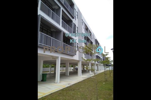For Sale Townhouse at Section 3, Bandar Mahkota Cheras Freehold Unfurnished 3R/2B 348k