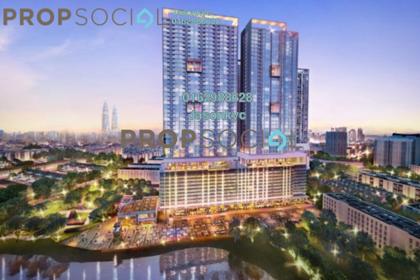 For Sale Condominium at 28 Boulevard, Pandan Perdana Freehold Semi Furnished 1R/1B 300k
