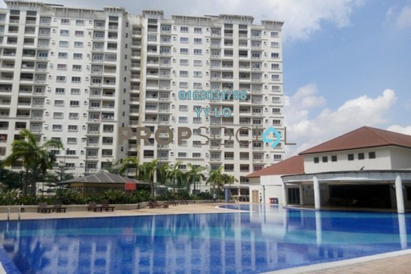 For Rent Condominium at SuriaMas, Bandar Sunway Leasehold Fully Furnished 4R/2B 2k