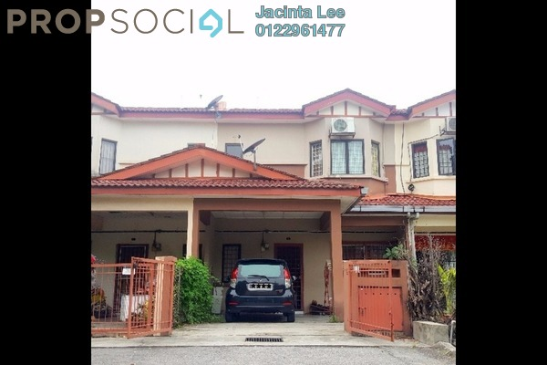 For Sale Terrace at Taman Puchong Prima, Puchong Freehold Semi Furnished 4R/3B 438k