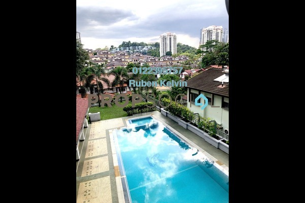 For Sale Apartment at Kristal Court, Seputeh Freehold Fully Furnished 2R/2B 650k