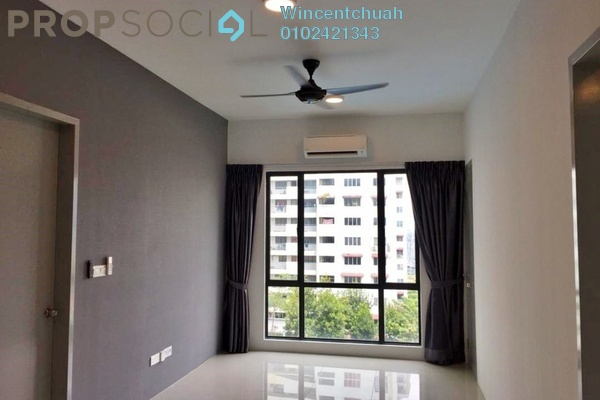 For Rent Condominium at The Nest, Setapak Freehold Semi Furnished 3R/2B 1.6k
