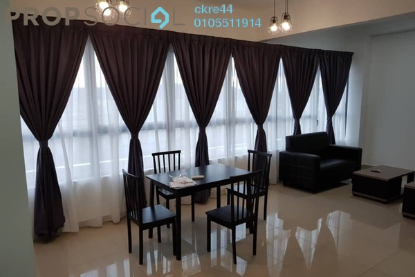For Sale Condominium at Arte +, Jalan Ampang Freehold Semi Furnished 2R/2B 685k