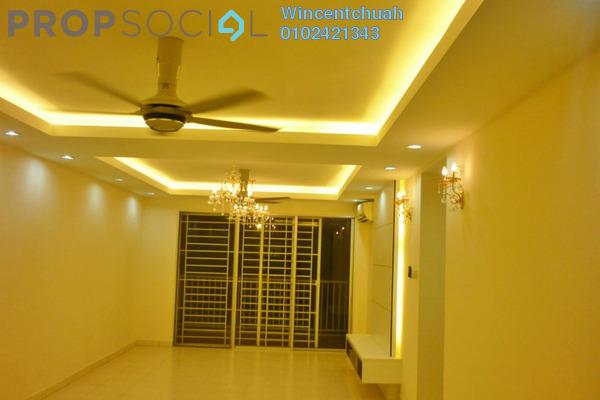 For Sale Condominium at Platinum Lake PV13, Setapak Freehold Semi Furnished 4R/2B 620k