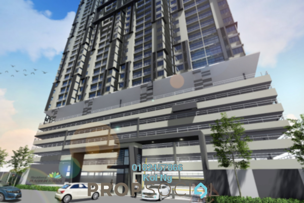 For Sale Condominium at Residensi Platinum Teratai, Kuala Lumpur Freehold Semi Furnished 3R/2B 380k