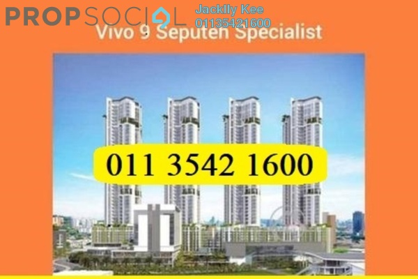For Rent Condominium at Vivo Residential @ 9 Seputeh, Old Klang Road Freehold Fully Furnished 3R/2B 3.5k