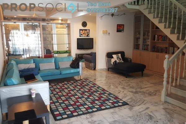 For Sale Terrace at Taman Melawati, Kuala Lumpur Freehold Semi Furnished 3R/4B 920k