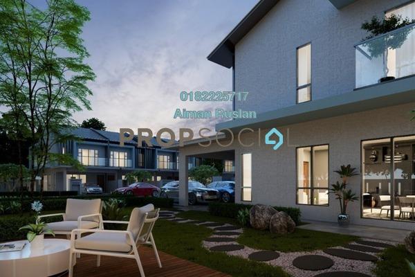 For Sale Terrace at Taman Semarang Intan, Dengkil Freehold Unfurnished 4R/4B 556k