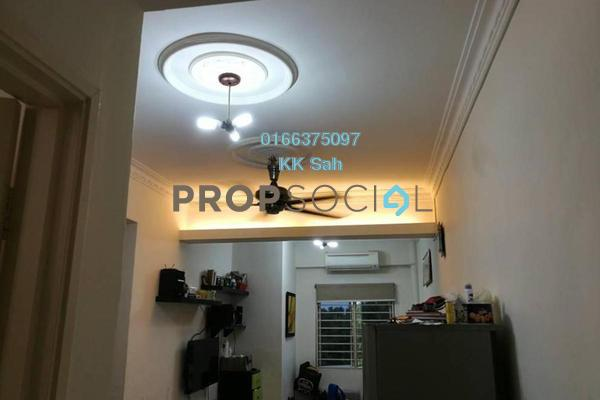 For Sale Apartment at Taman Damai Impian 2, Bandar Damai Perdana Freehold Semi Furnished 3R/2B 270k