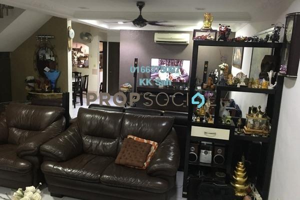 For Sale Link at Taman Kajang Prima, Kajang Freehold Semi Furnished 5R/4B 588k
