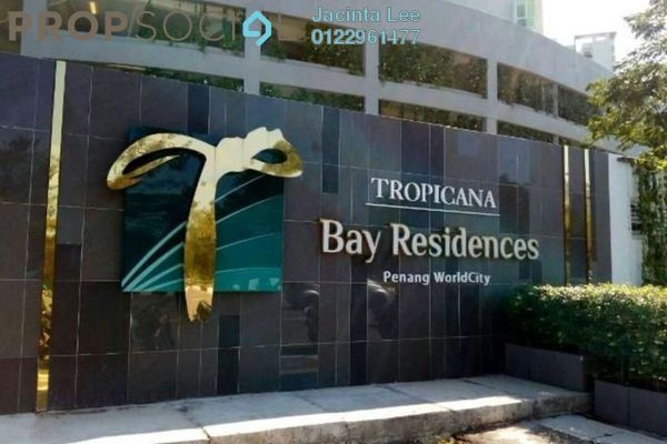 For Sale Condominium at Tropicana Bay Residences, Bayan Indah Freehold Semi Furnished 4R/3B 729k