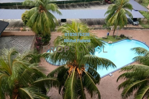 For Sale Apartment at City Garden Palm Villa, Pandan Indah Freehold Semi Furnished 3R/2B 425k