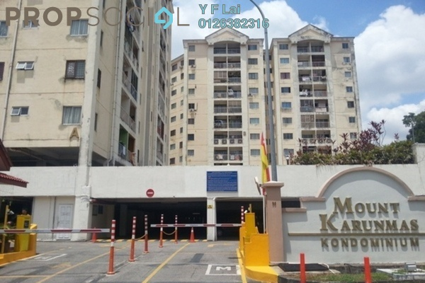 For Sale Condominium at Mount Karunmas, Balakong Freehold Unfurnished 2R/2B 235k