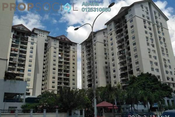 For Sale Condominium at Mentari Condominium, Bandar Sri Permaisuri Freehold Unfurnished 0R/0B 430k
