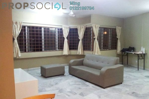 For Sale Condominium at De Tropicana, Kuchai Lama Leasehold Semi Furnished 3R/2B 290k