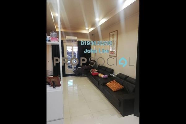 For Sale Terrace at Taman Sri Bintang, Kepong Freehold Semi Furnished 3R/2B 740k