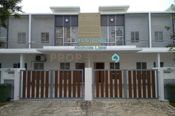 For Rent Terrace at Setia EcoHill, Semenyih Freehold Semi Furnished 4R/3B 1.2k
