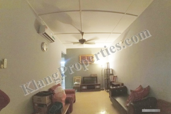 For Sale Terrace at Taman Teluk Pulai, Klang Freehold Semi Furnished 3R/2B 378k