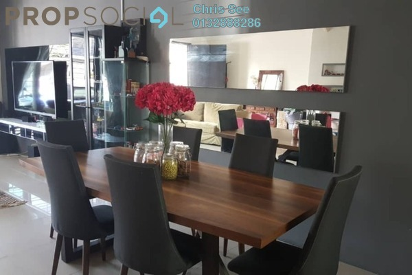 For Sale Terrace at Ken Rimba, Shah Alam Freehold Fully Furnished 4R/3B 650k