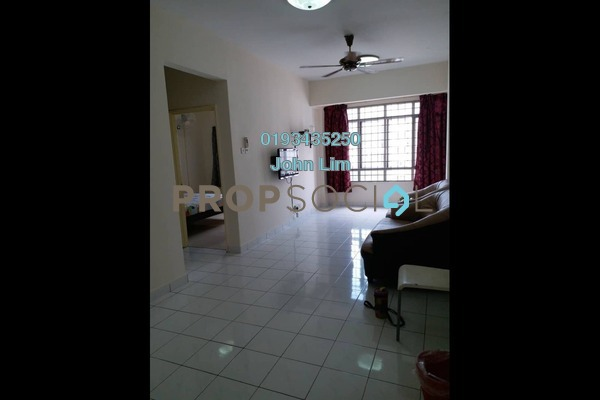 For Rent Apartment at Suria KiPark Damansara, Kepong Freehold Fully Furnished 3R/2B 1.2k