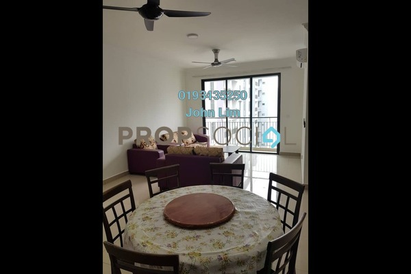 For Rent Condominium at The Henge Residence, Kepong Freehold Semi Furnished 3R/2B 1.75k