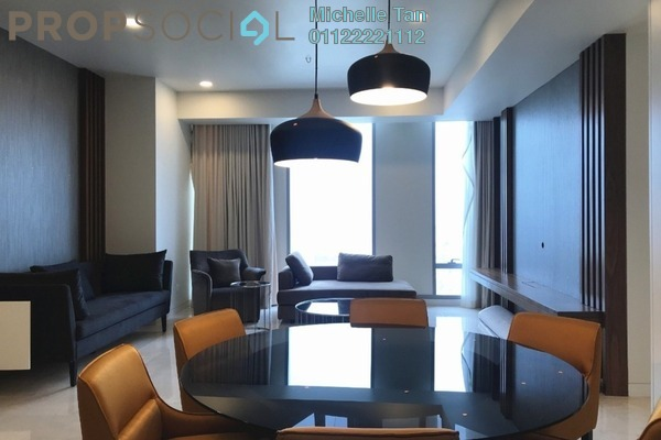 For Rent Serviced Residence at Tropicana The Residences, KLCC Freehold Fully Furnished 2R/2B 7.79k