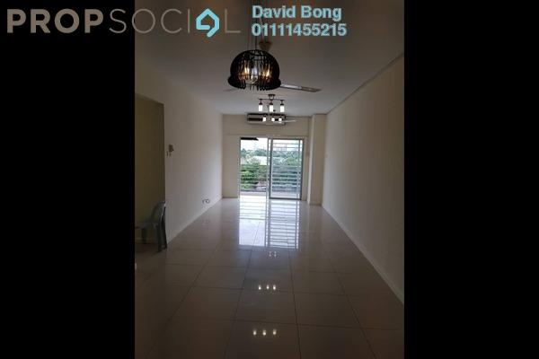 For Rent Condominium at Casa Idaman, Jalan Ipoh Freehold Semi Furnished 3R/2B 1.4k